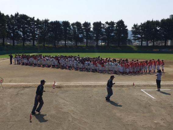 7/8山日YBS杯少年野球大会甲府地区大会開幕